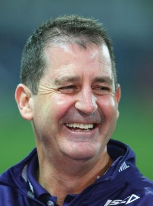 Come what may, Ross Lyon wants the four points against Hawthorn.