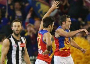 Brisbane Lions have jumped out to an early lead against the injury-hit Magpies.