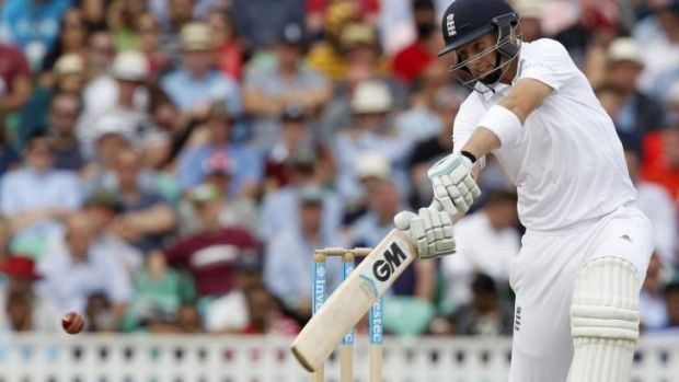 Unbeaten: England's Joe Root continued his fine run-scoring form.