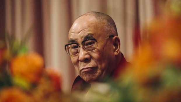 The Dalai Lama lives in exile in India.