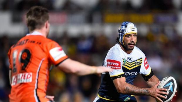 Class to burn: North Queensland's talisman Johnathan Thurston.