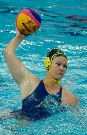 Sweet 16: Australia's Rowena Webster was named player of the tournament.