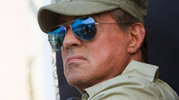 Who's to blame? Sylvester Stallone in  <i>The Expendables 3</i>.