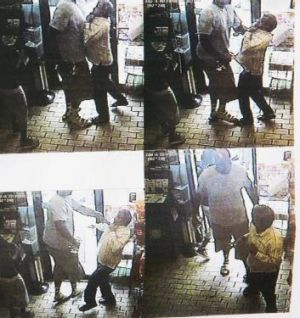 There was a report of a robbery of cigars in a convenience store in the area a few minutes before Michael Brown was shot ...
