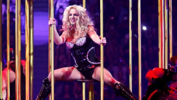 Oops she did it again ... Has Britney Spears been caught in the act of lip-synching again?