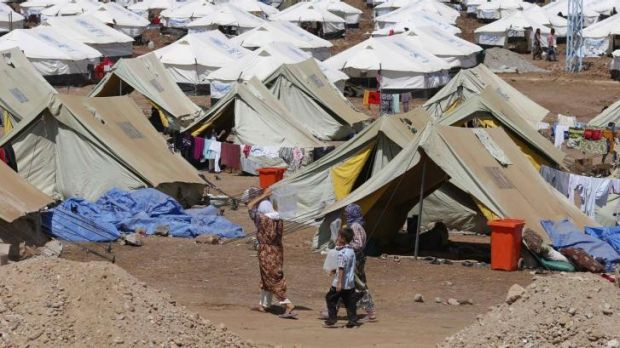 Nowruz camp was not equipped to cope with the arrival of tens of thousands of Iraqis.
