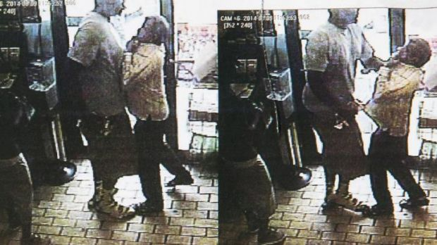CCTV footage released by Ferguson police that they claim shows Michael Brown involved in a robbery minutes before he was ...