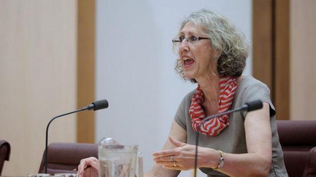 """""""Shocked"""": Clerk of the Senate, Dr Rosemary Laing."""