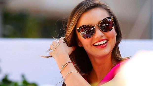 Nothing to do with me: Miranda Kerr says the fight between James Packer and David Gyngell wasn't over her.