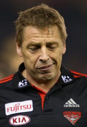 Mark Thompson has made it clear he would like to continue at Essendon in 2015.
