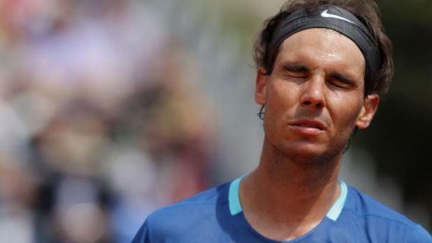"""I am sure you understand that it is a very tough moment for me"": Rafael Nadal."
