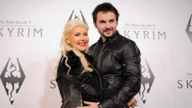 """So proud"": Singer Christina Aguilera and her fiance, Matthew Rutler, have welcomed a baby girl."