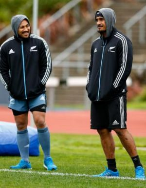 Nonu and Kaino sit out training on Tuesday.