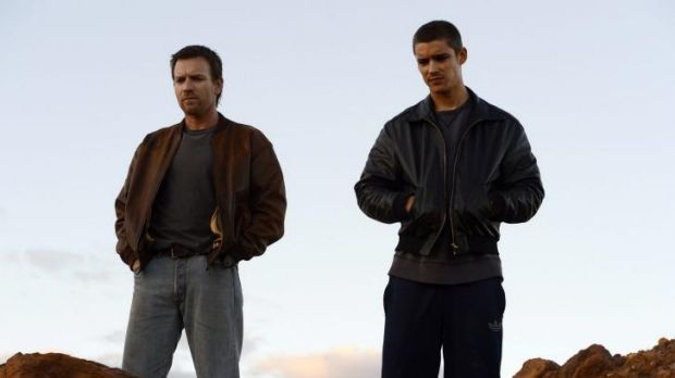Authentic: Brendan (Ewan McGregor) and JR (Brenton Thwaites) in a scene from <i>Son of a Gun</i>, directed by Julius Avery.