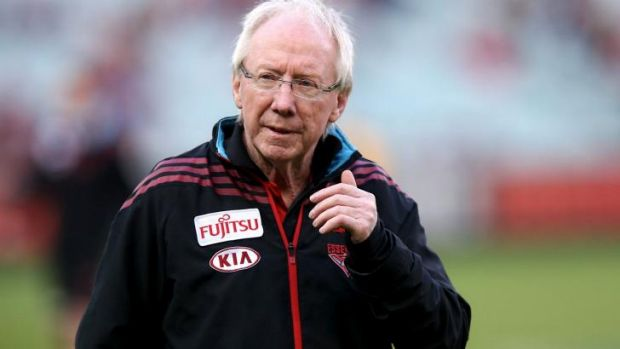 Most Essendon players probably looked upon Bruce Reid as a trusted uncle almost.