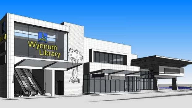 Image of the proposed Wynnum site development.