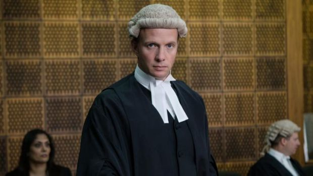 Born to do it: Rupert Penry-Jones as Clive Reader in Silk.