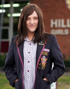 Dishonest, manipulative and brilliant: Chris Lilley as Ja'mie King.