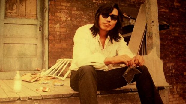 Mystery man: Sixto Rodriguez was an enigmatic singer-songwriter whose story is unraveled in the documentary <i>Searching ...