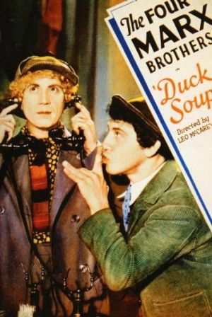 Classic comedy: The Marx Brothers are up to their usual tricks in <i>Duck Soup</i>.