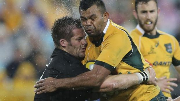 No longer immune to the whistle: All Blacks captain Richie McCaw.