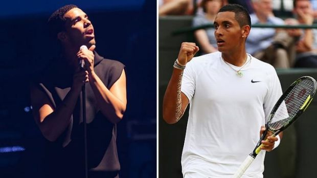 Nick Kyrgios seems to have ended his feud with Canadian rapper Drake.