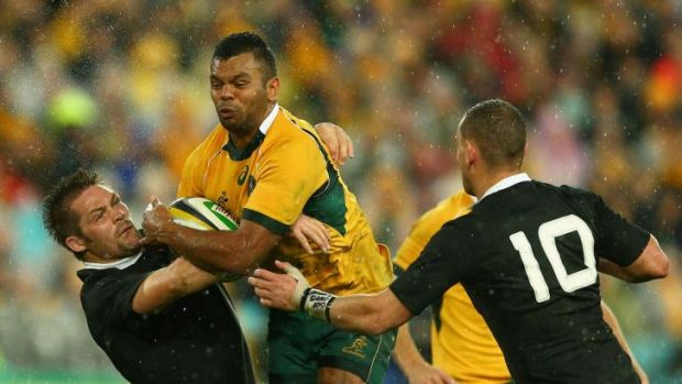 Nobody to somebody: Wallabies five-eighth Kurtley Beale.