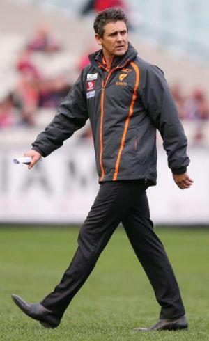GWS coach Leon Cameron.