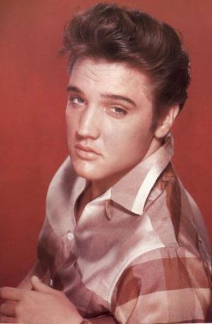 'Multifaceted personality': A young Elvis Presley.
