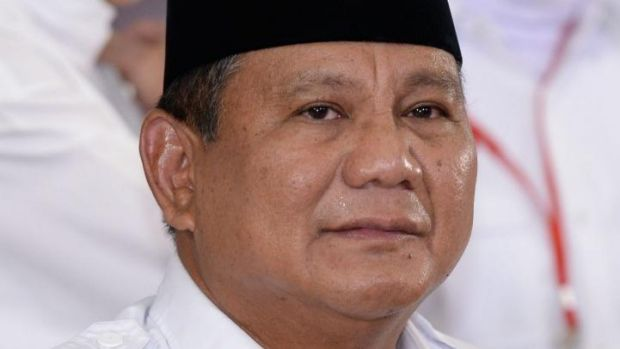 Challenged the result: Presidential candidate Prabowo Subianto.