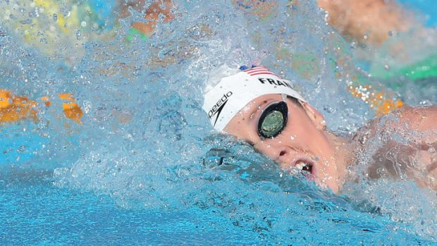 Reigning world champion Missy Franklin failed to qualify for the 200 metres freestyle final.