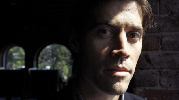 American journalist James Foley in Boston in 2011.