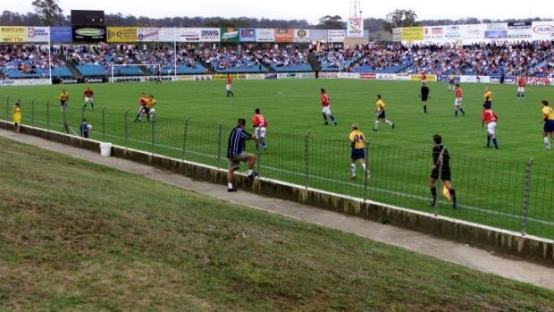 Theatre of dreams: Sydney United's Edensor Park will host the last-16 tie.