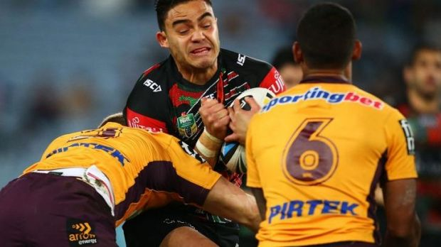 """""""It's awesome to have [Tuqiri and Greg Inglis] nurturing us young blokes"""": Dylan Walker."""