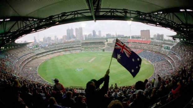 The MCG ... the home of footy in Melbourne.