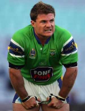 Former Raiders star, and now Queanbeyan Blues coach, Simon Woolford.