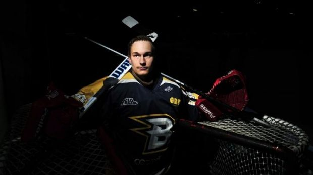 Goalkeeper Petri Pitkanen has been named the Canberra Brave's most valuable player for the 2014 Australian Ice Hockey ...