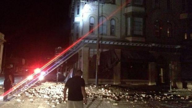 Damage from the earthquake was widespread, but not major, authorities said.
