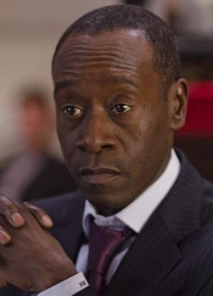 Main man: Don Cheadle plays a devious management consultant on  <i>House of Lies</i>.