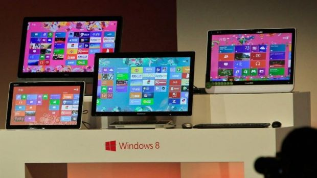 Banned in China: Windows 8, Microsoft's latest OS for desktop PCs and tablets.