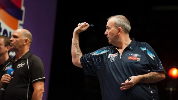 """Phil """"The Power"""" Taylor in full pomp."""
