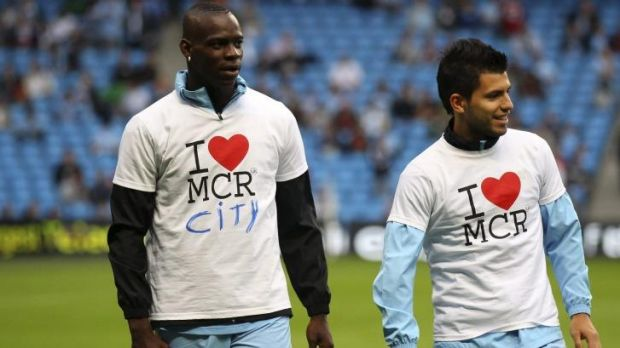 City slicker: Mario Balotelli wore his heart on his sleeve as a Manchester City player, and is assured of a warm ...
