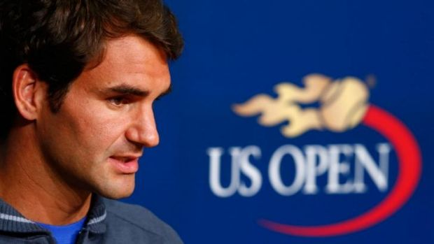 Still a threat: Roger Federer will be one of the contenders for the US Open.