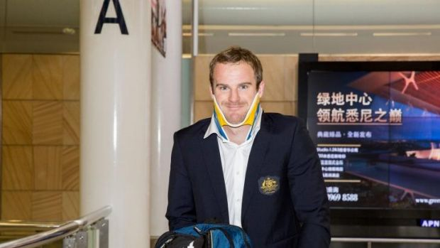 Wallaby Pat McCabe returns from New Zealand on Sunday with an injured neck.