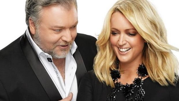They's back: Breakfast duo Kyle Sandilands and Jackie Henderson have regained the top FM spot.