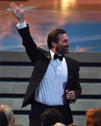 <i>Mad Men</i> star Jon Hamm.