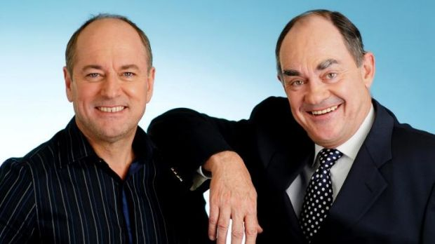 Ross Stevenson and John Burns are back at the top spot for 3AW.