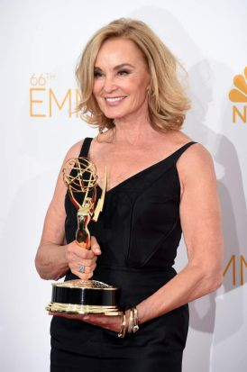 Jessica Lange: outstanding lead actress in a miniseries or movie (<i>American Horror Story: Coven</i>).