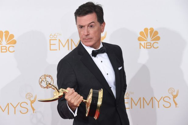 Stephen Colbert: outstanding variety series for <i>The Colbert Report</i>.