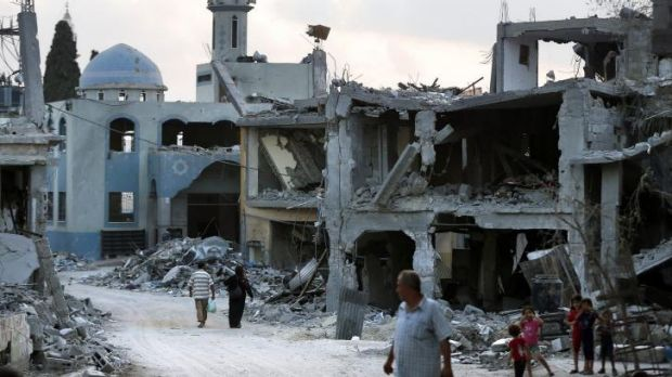 A long-term deal, still to be reached, would alllow reconstruction aid to flow in to Gaza.